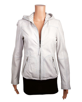 Mauritius - The Suse Women's Lambskin Jacket with Hoodie