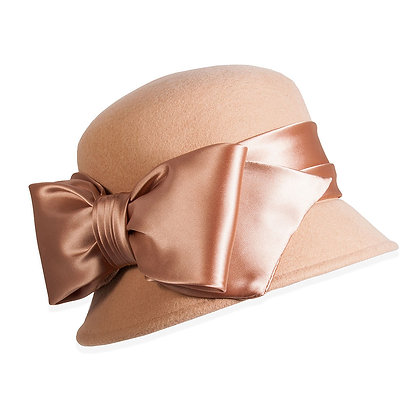 Toucan Hats - Satin Bow Cloche
