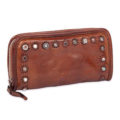 Campomaggi - Ravenna Long Zip Wallet Studs