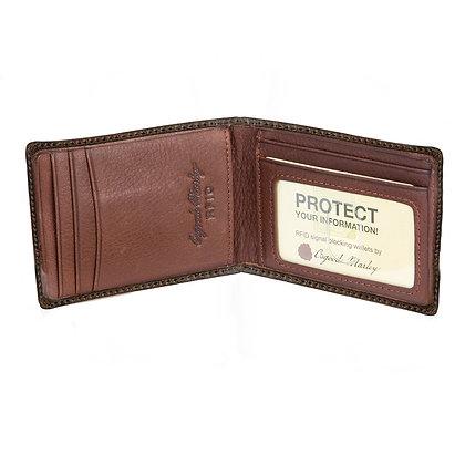 Osgoode Marley - RFID Magnetic Money Clip Wallet Distressed