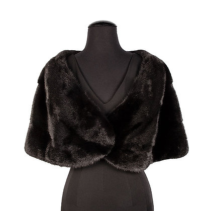 Chosen Fur - Black Mink Stole
