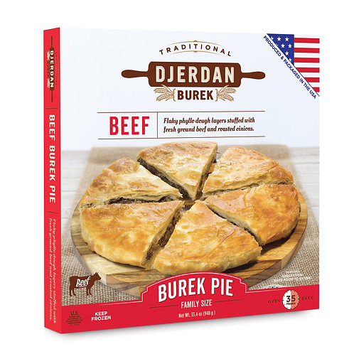 Burek Traditional Beef Pie