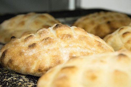 Lepinja (traditional Balkan flat bread)