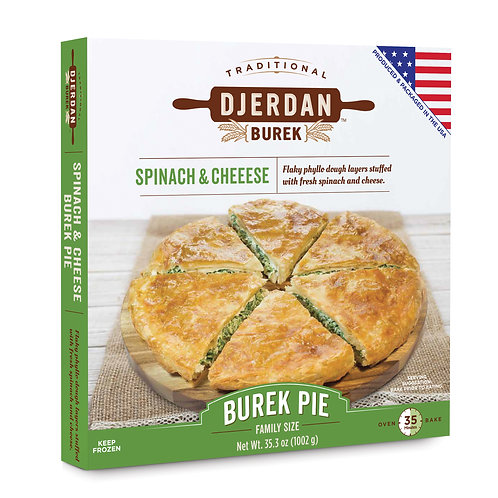 Burek Traditional Spinach Pie