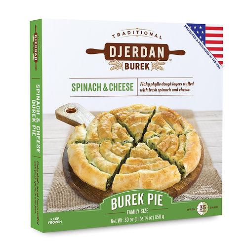 Burek Spinach Spiral Pie