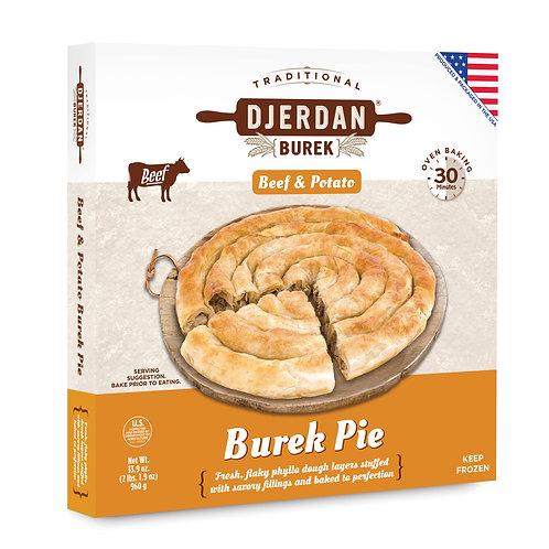 Beef & Potato Burek Pie