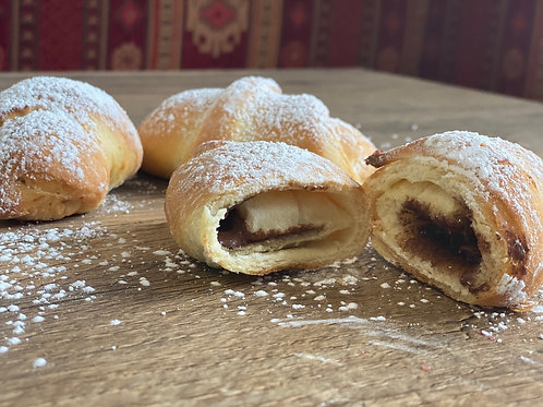 Nutella filled Home-Made Kiflice