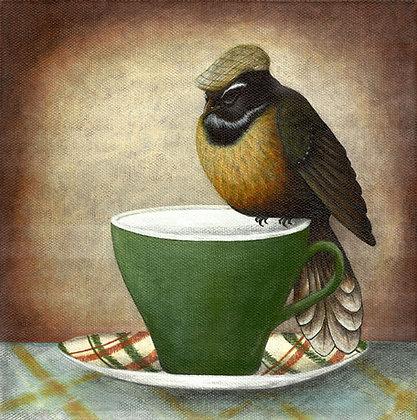 A Cup Of Tea & A Lie Down - Grandad's 40 Winks   *Print