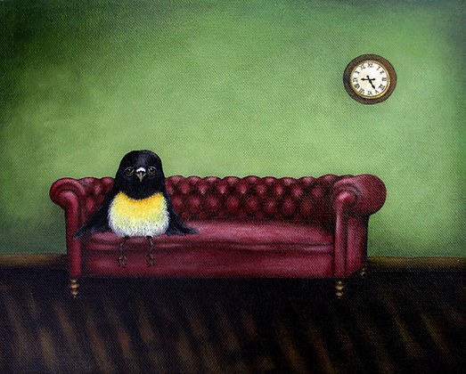Master Tomtit - The Waiting Room  *Print