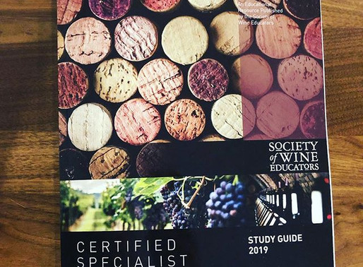 What does it take to become a Certified Specialist of Wine?