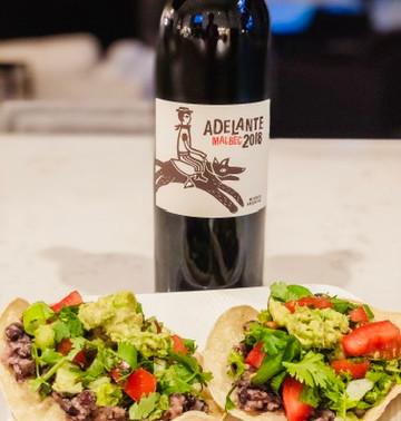 Black Bean Tostadas #gamechangersmovie recipe. #eatlikeagamechanger #vinoandveggies