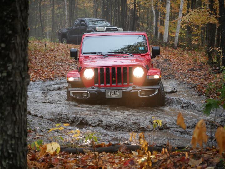 Muddy Jeep.