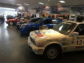 UUC is a partial sponsor for Slapdash Racing's E30 BMW rally car.
