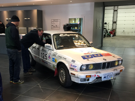 Slapdash BMW sits inside dealership showroom for the first time in 28 years