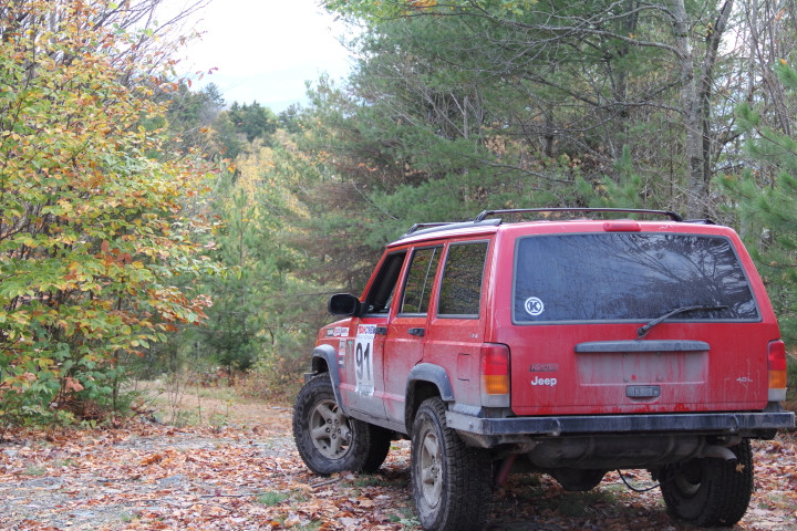 Mid-1980s Jeep Cherokee.