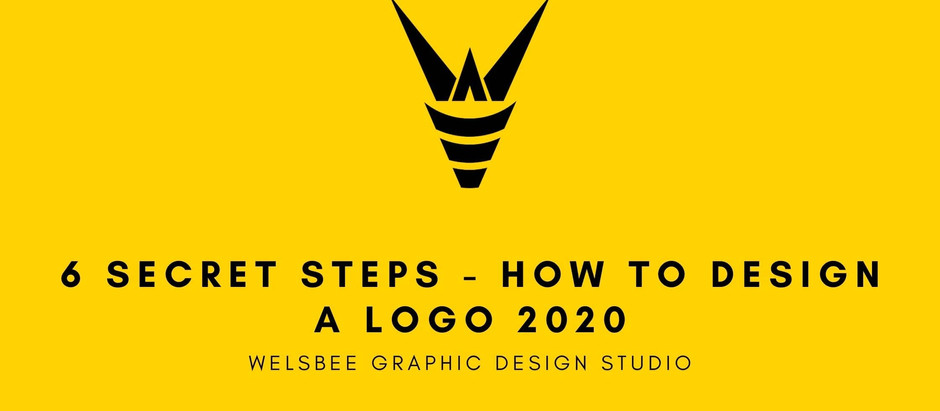 6 Secret tips on How to design a logo 2020 - Welsbee Guide