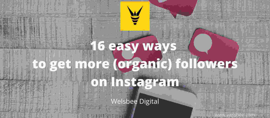 16 easy ways to get more (Organic) followers on Instagram