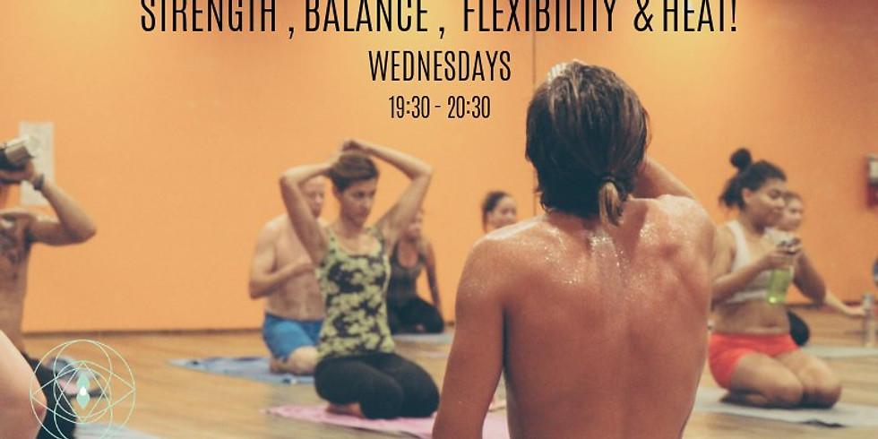 Hot Yoga : Wednesday 19:30-20:30