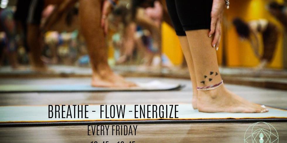 Vinyasa Flow: Friday 18:45-19:45