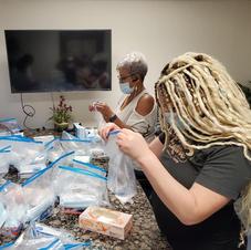 Covid19 bags for homeless veterans