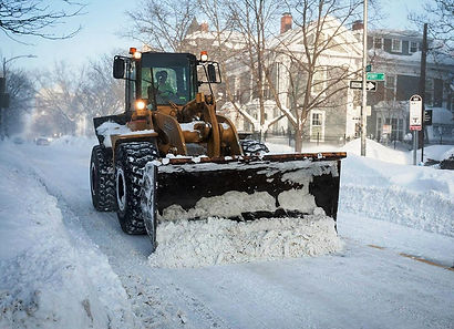snow removal loader