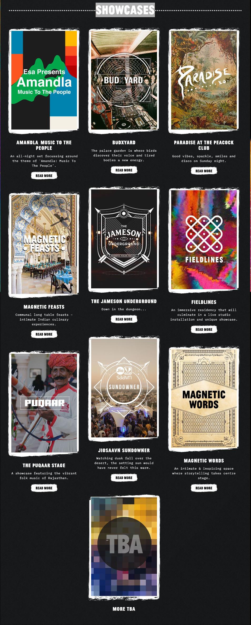 Showcases - Magnetic Fields Festival 201
