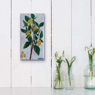 lemon leaf (sold) 2020