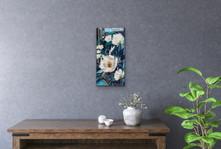 Steel Blue Magnolias (sold) 2020