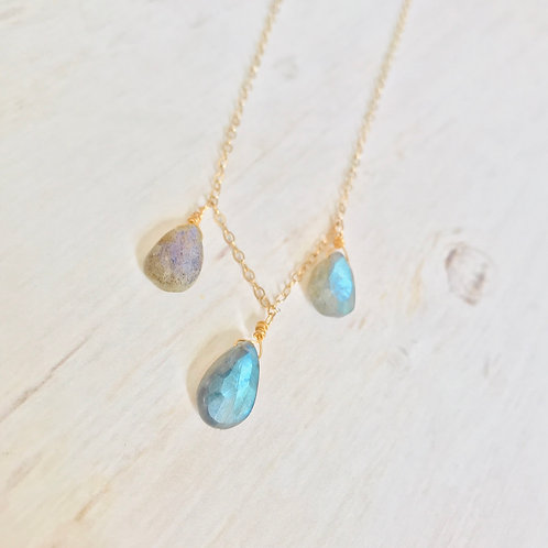 Foggy Drops Necklace