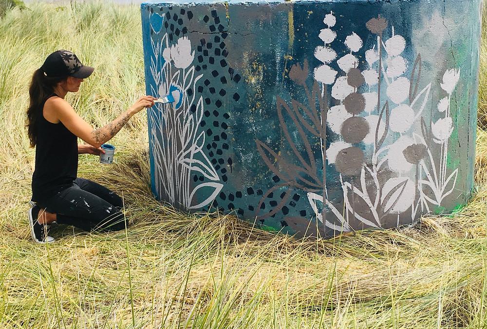 Painting Mural