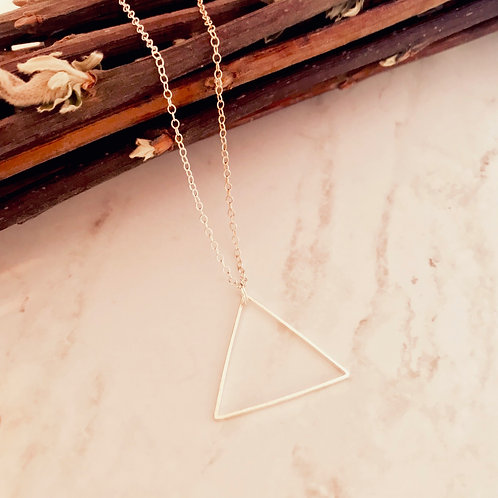 Geo Triangle Necklace
