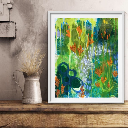 Springy Greeny 2018, (sold) Private Collection