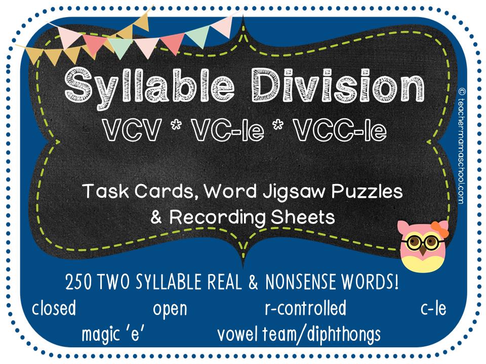 VCV  VC-le  VCC-le Task cards