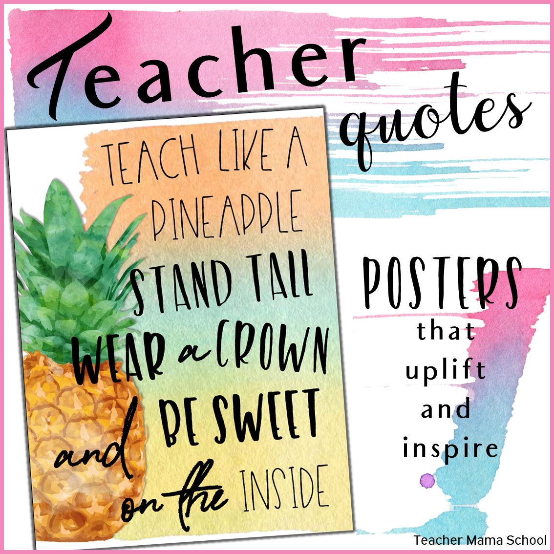 Teacher Quotes Posters