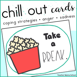 Calmng Coping Strategy Cards