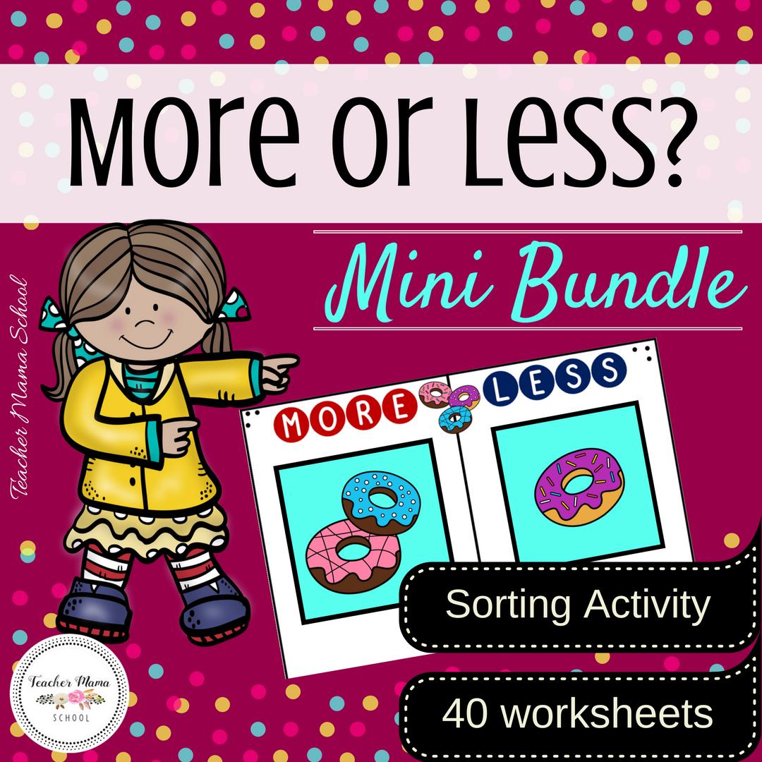More or Less - Mini Bundle Cover