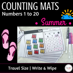 Summer Math Center - Numbers 1 to 20