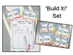 Syllable Division Task Cards | VCCV