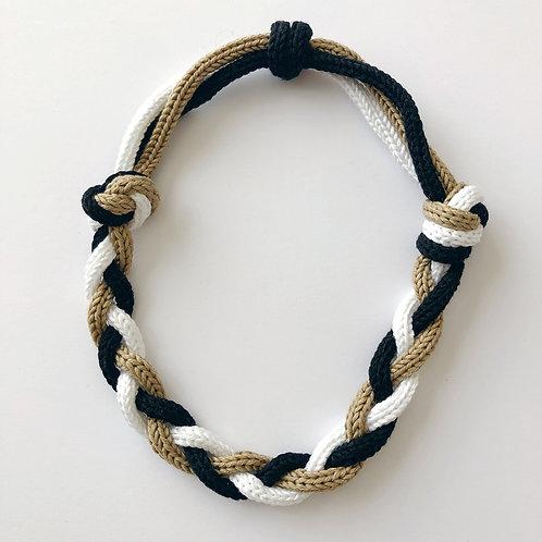 knot braided savana tricolor