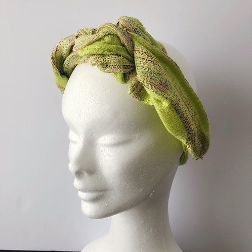 hairband green gold