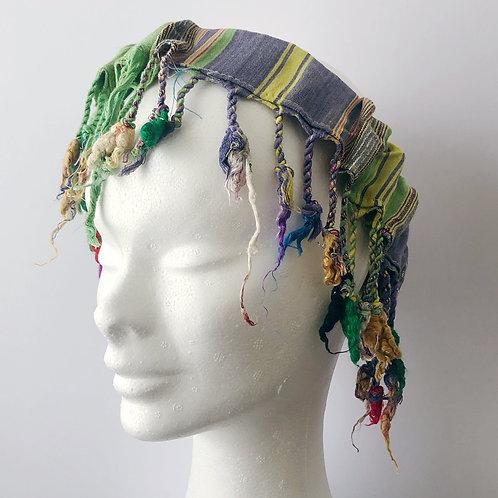 hairband green blue