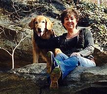 Jill and business partner-Kayak Ziggy