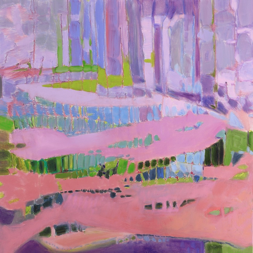 Reception & Gallery Talk with Suzanne Packer on Cape Waters Abstracted