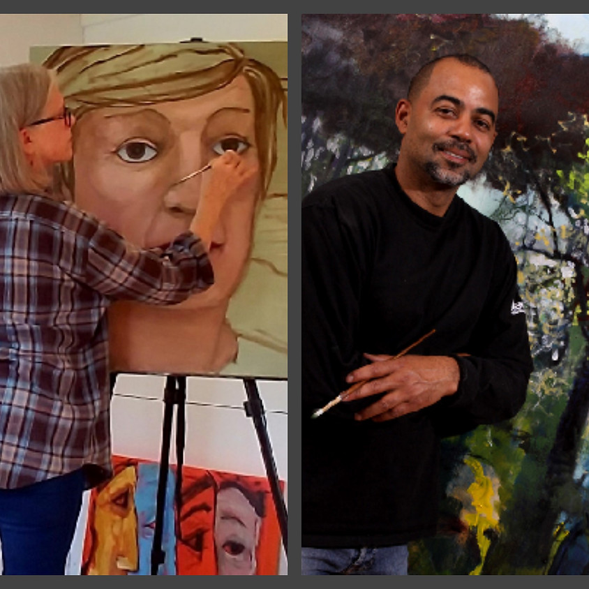 An Artists Salon with Heather Blume & Joe Diggs -  A Painting Co-creation