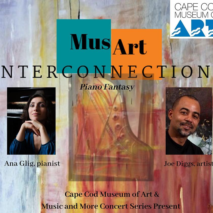 MusArt Interconnections: Piano Fantasy with Ana Gligvashvili and Joe Diggs