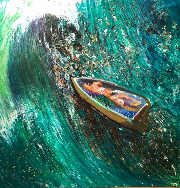 The Wave of the Future, 2009, Oil on Canvas