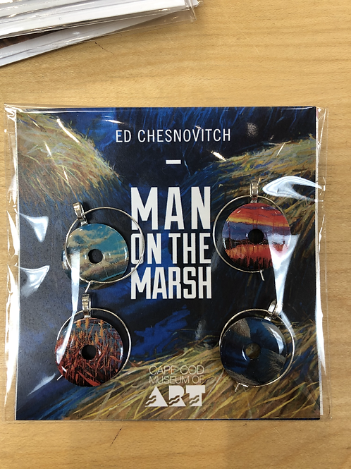 MAN ON THE MARSH WASHER CHARMS