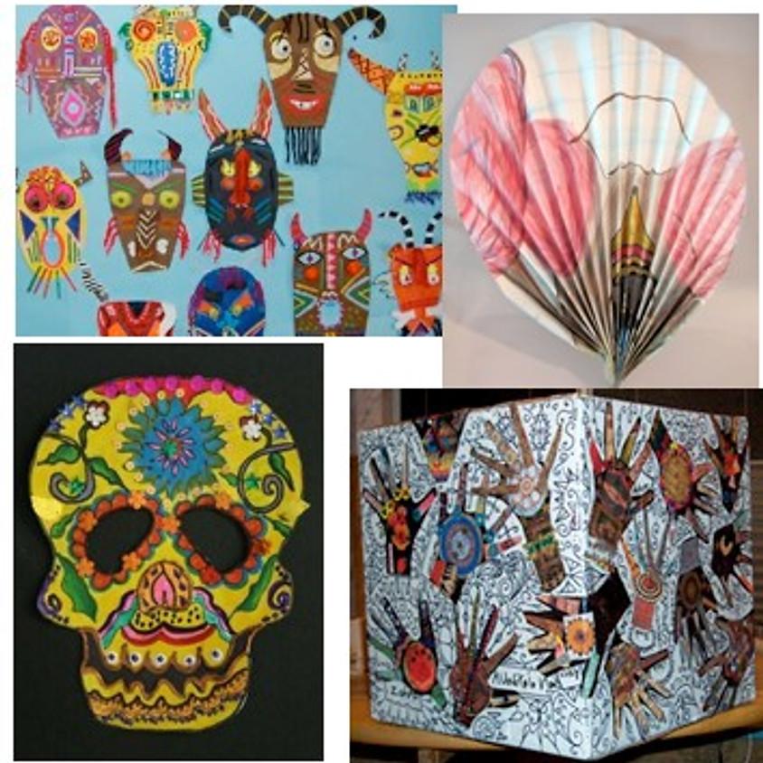 Art From Around the World with Jennifer Stratton
