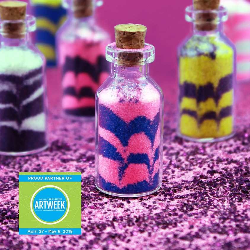 Art in a bottle: Colored Sand Art for Everyone!