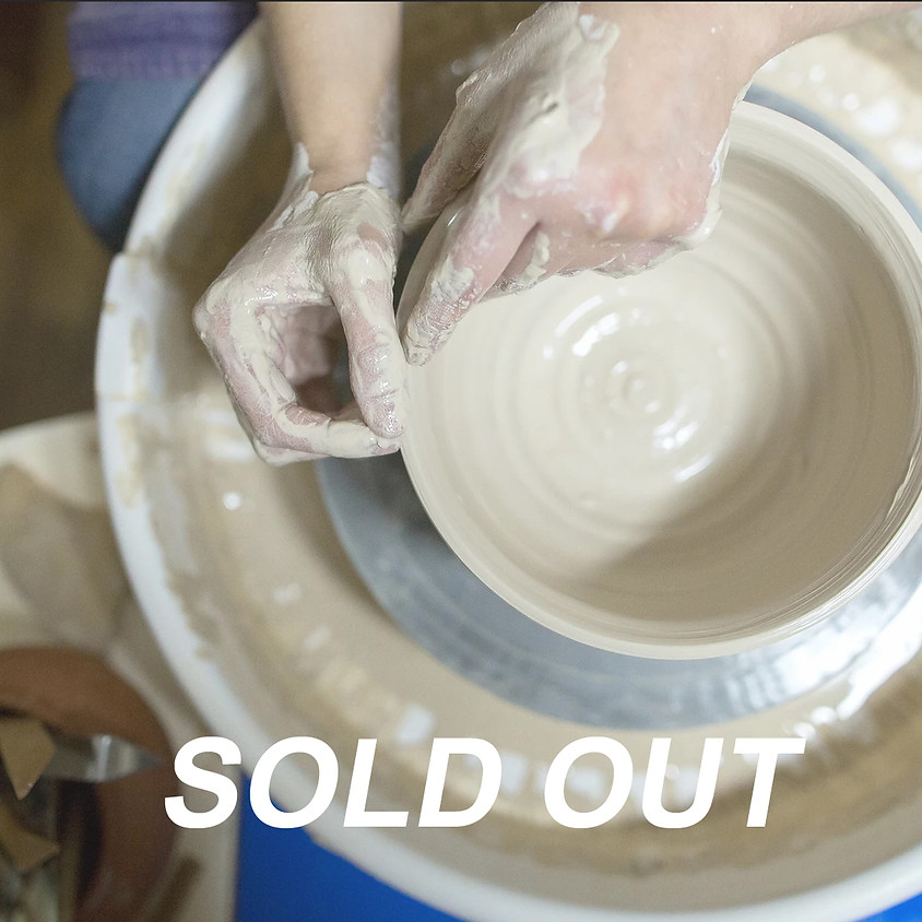 Pottery with Nat Doane - Tuesdays August 18 - September 29  (7 sessions)